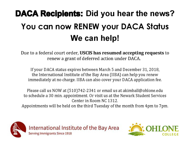 DACA Legal Clinic 2018